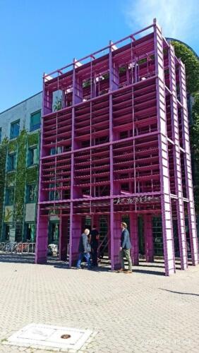 Ekspertyza techniczna wybranych elementów konstrukcyjnych budynku biblioteki w Warszawi