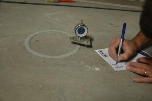 Ekspertyza techniczna nawierzchni betonowej w garażu podziemnym budynku w Elblągu
