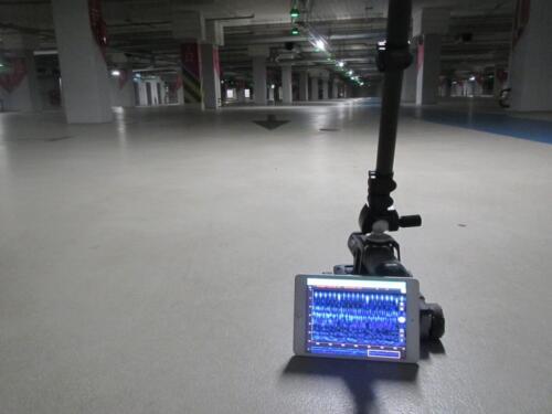 Ekspertyza techniczna stropu i płyty dennej garażu podziemnego galerii handlowej w Warszawie