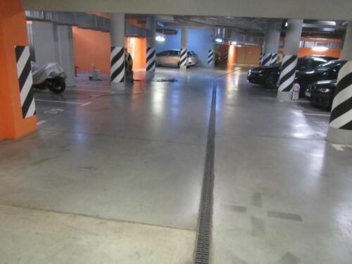 Ekspertyza techniczna posadzki w garażu podziemnym budynku mieszkalnego w Warszawie