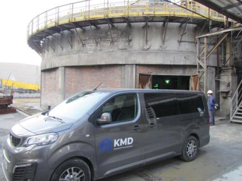 Ekspertyza techniczna zbiornika na terenie zakładu przemysłowego na śląsku