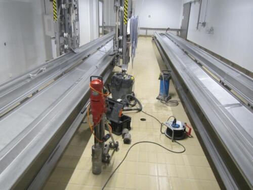 Ekspertyza techniczna posadzki na zakładzie przetwórczym w Wielkopolsce
