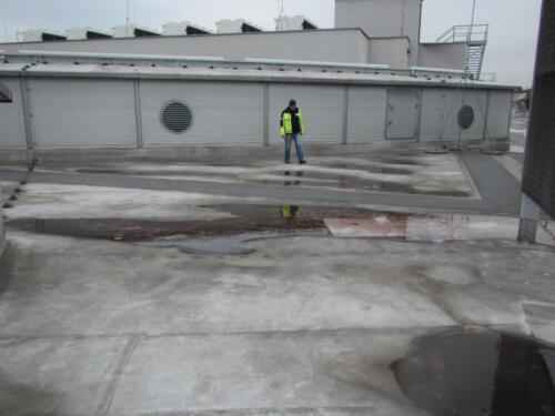 Ekspertyza stanu technicznego membrany dachowej. Centrum Handlowe na Górnym Śląsku
